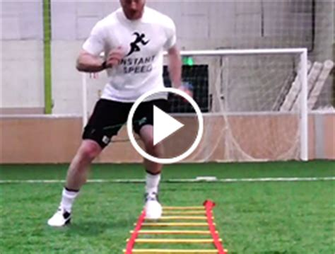 ladder agility drills  improved speed speed bands
