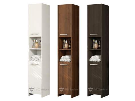 Modern 170cm Tall Bathroom Storage [m231] Cabinet, Matt