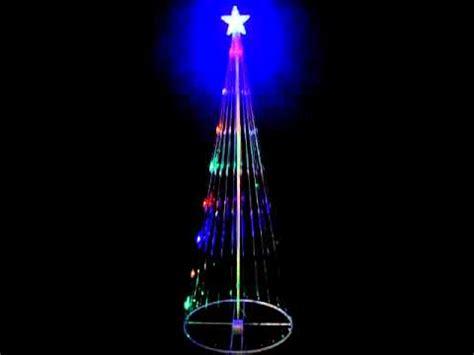 gemmy lightshow starry night white led mega tree doovi