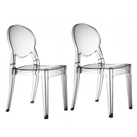 chaise transparente pas cher chaises transparentes design régence soldes chaise transparente atylia ventes pas cher com