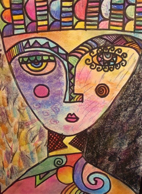 picasso face intermediate art artist experience