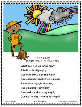 day sun moon shadows songs amp rhymes day and 612 | 7cddb086763cdf13af6d6274d3d44fc6