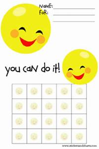 cute printable certificate templates for kids With smiley face behavior chart template