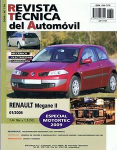 Manual De Taller Renault Megane Ii 1 4  1 5 Dci  2006