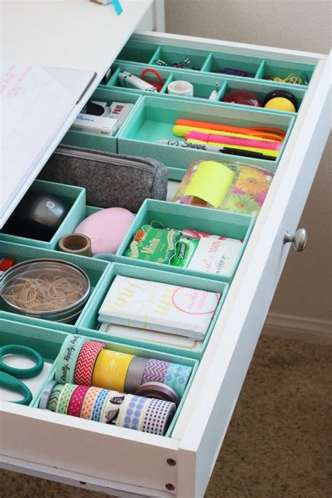 lade da scrivania how to organize drawers for every room of the house