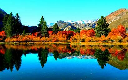 Autumn Lake Wallpapers Desktop 4k Nature Lakes