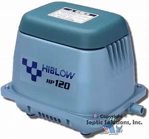 Hiblow Hp Linear Septic Aerator Air Pumps