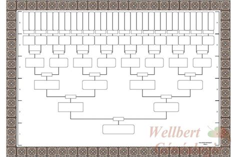 fill blank family tree template blank family tree