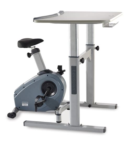Recumbent Bike Desk Diy by Bike Desks Work Out At Work Includes 1 Free Accessory