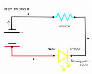 basic led circuit With simple circuits