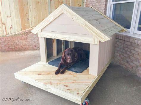 diy dog house plans   build