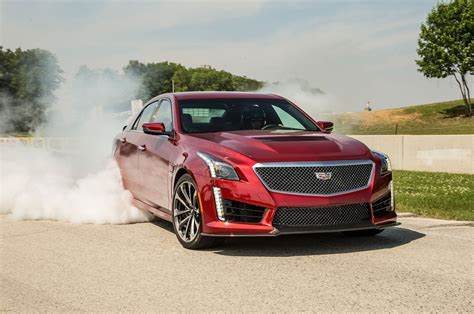 2016 Cadillac Cts-v First Drive Review
