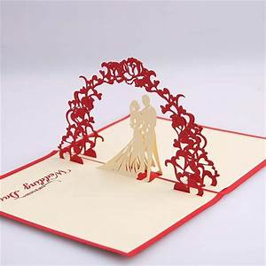 popular bride wedding invitations buy cheap bride wedding With wedding invitation pop up card bride and groom