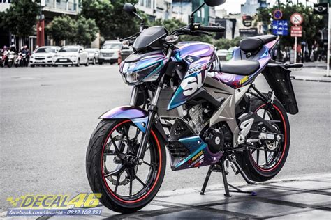 Modif Suzuki Smash Standar by Cadaz Modifikasi Decal Suzuki Gsx S150 Aripitstop