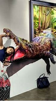 3D Paintings on Wall-Fun With Puzzles