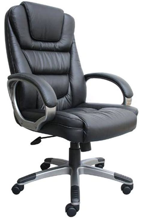 b8601 no tools required high back leather executive