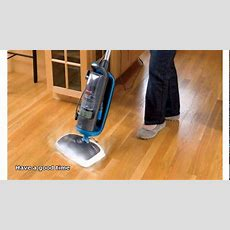 Steam Cleaning Hardwood Floors Youtube