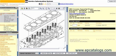 caterpillar sis   repair manual heavy technics