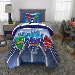 Pj, Masks, Kids, Microfiber, Bed