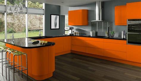 cuisine en orange cuisine orange idées et astuces de déco