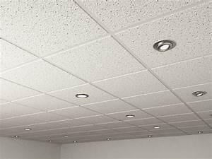 D model realistic ceiling tiles spot