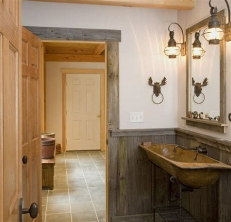 rustic bathroom lighting ideas wooden bathroom decor with rustic bathroom lighting home