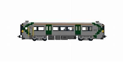 Lego Train Side Rail Irish Class 2750