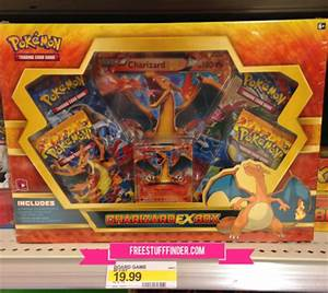 hot 50 off pokemon charizard box cartwheel offer at tar