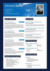 40 great html cv resume templates template idesignow With impressive resume templates