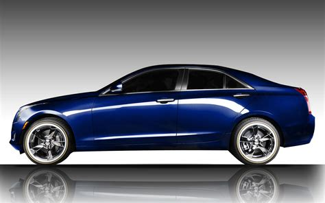 cadillac ats in opulent blue metallic with vogue vt378