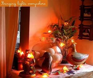 Diwali decorations ideas for office and home easyday for Interior decoration ideas for diwali