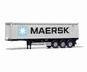 40 Fuß Container In Meter : 40 fu container auflieger maersk 1 14 kit modellsport schweighofer ~ Whattoseeinmadrid.com Haus und Dekorationen