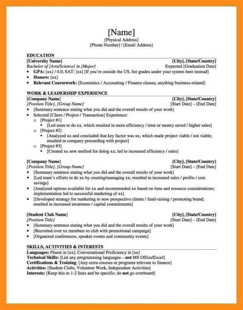 Graduate School Resume Template by 11 12 Resume Graduate School Sle Lascazuelasphilly