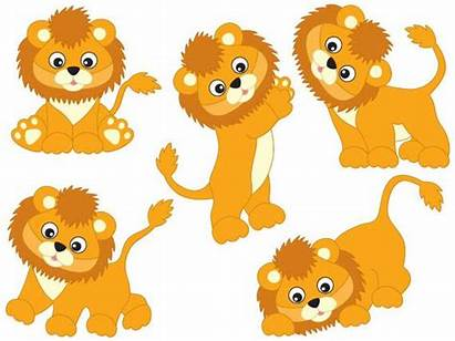 Lions Clipart Vector Lion Cartoon Safari African