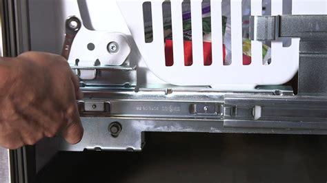 freezer door adjustment bottom freezer refrigerators youtube