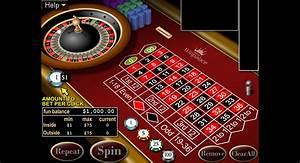 American Roulette wheel, play for free