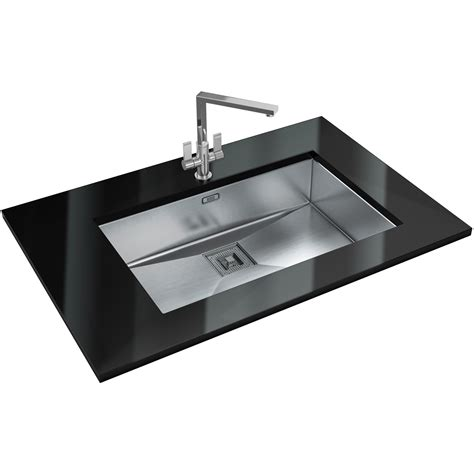 franke peak designer pack pkx 110 70 stainless steel sink