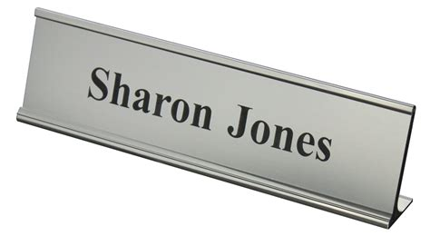 desk name plate designs wooden desk name plates name placard km creative