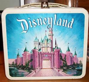 1950s Vintage Disneyland Lunchbox  U0026 Thermos Aladdin