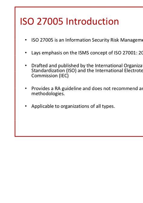 iso  risk assessment
