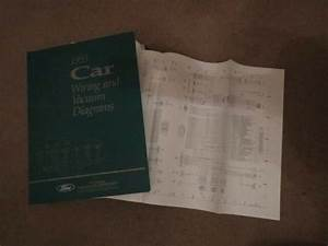 1993 Lincoln Continental Wiring Diagrams Manual Sheets Set