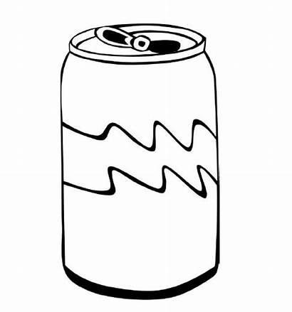 Coloring Pages Drinks Milk Cup Kola Drink
