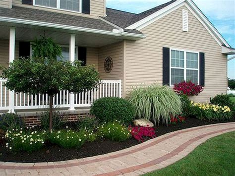 beautiful front landscaping how lay front sidewalk landscaping ideas bistrodre porch and landscape ideas