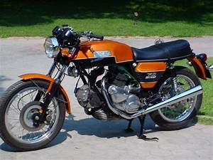 1974 Ducati Round Case 750 Gt Electric Start