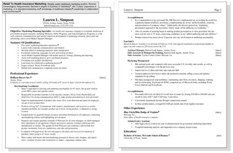 how to target a resume for a specific dummies