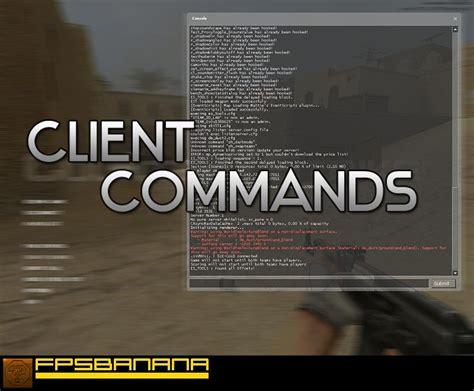 client commands counter strike source tutorials