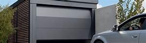 porte de garage fichet carstyl With porte de garage coulissante jumelé avec porte blindée a2p