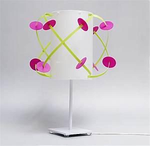 Lampe Chambre Fille : lampe fille du vert et du rose parmi notre slection de lampes de chevet fille ~ Preciouscoupons.com Idées de Décoration