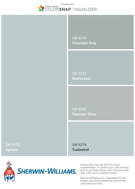 sherwin williams color visualizer 1000 ideas about sherwin williams color palette on