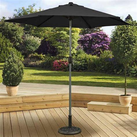 Black Pagoda Patio Umbrella by Pagoda Aluminium Pole Garden Outdoor Patio Crank And Tilt